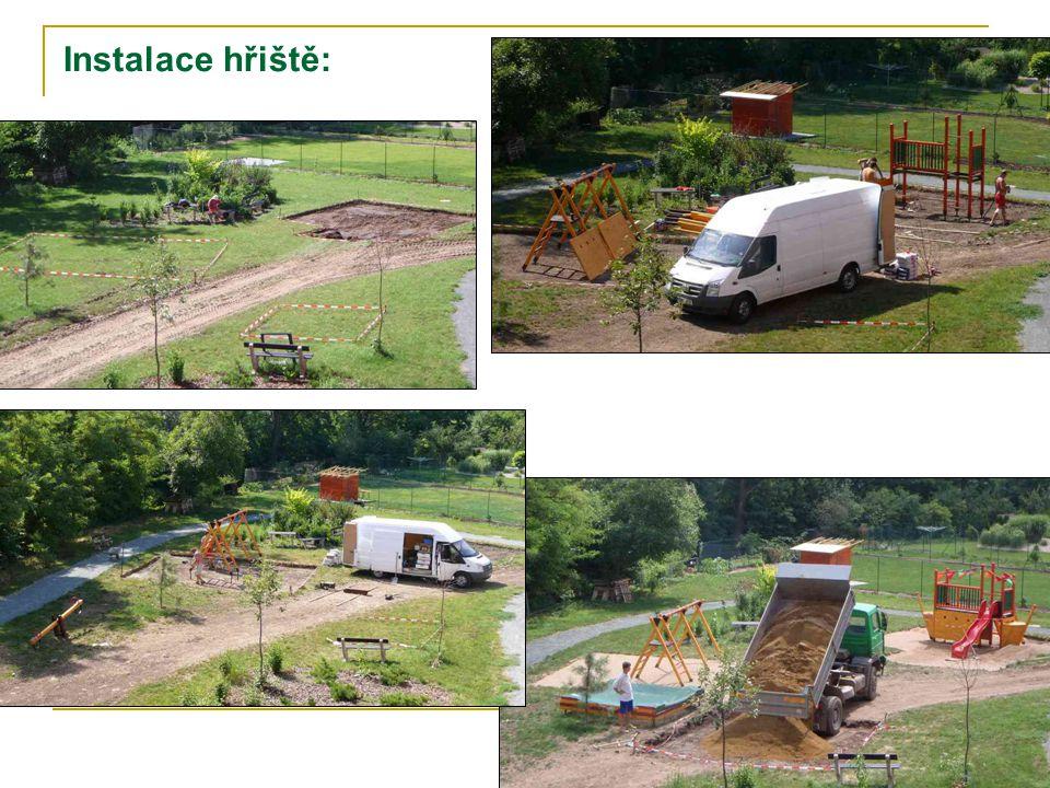 Instalace hřiště: 9