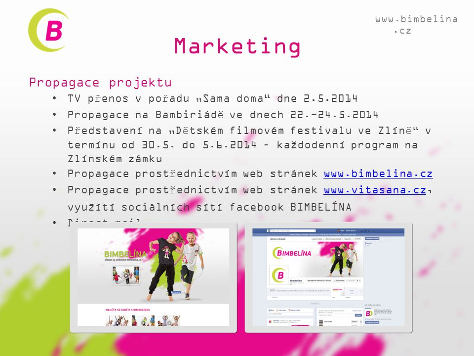 Marketing Propagace projektu