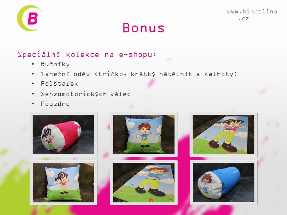 Bonus Speciální kolekce na e-shopu: Ručníky
