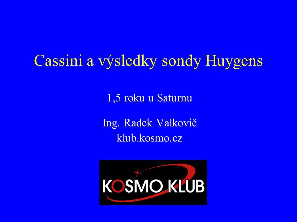 Cassini a výsledky sondy Huygens