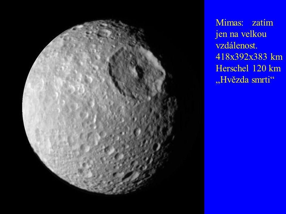Mimas: zatím jen na velkou vzdálenost