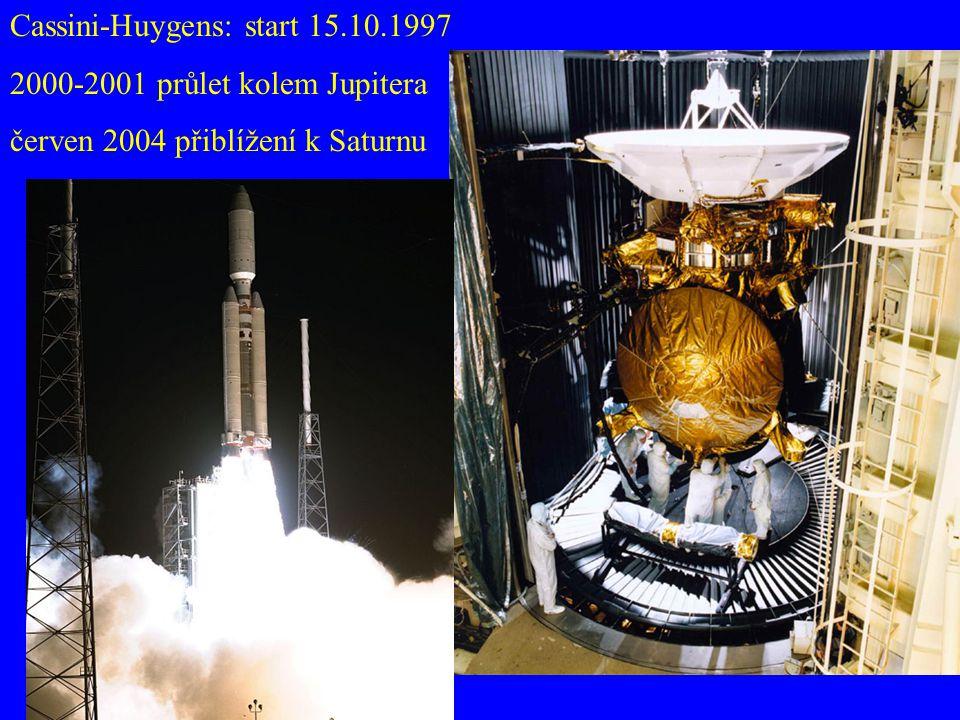 Cassini-Huygens: start 15.10.1997