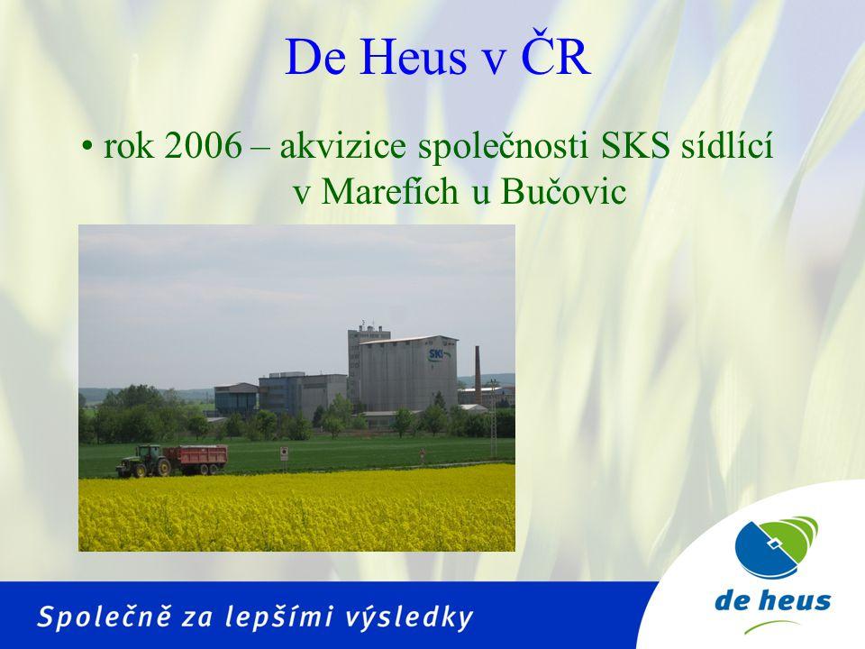 rok 2006 – akvizice společnosti SKS sídlící v Marefích u Bučovic