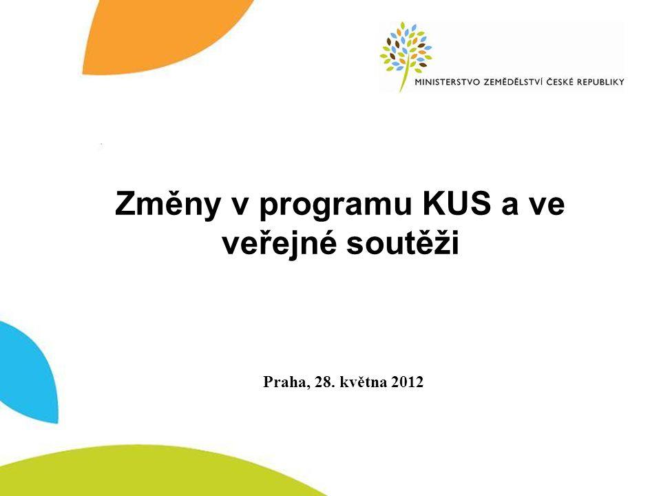 Nový program MZe - dvoustupňová veřejná soutěž