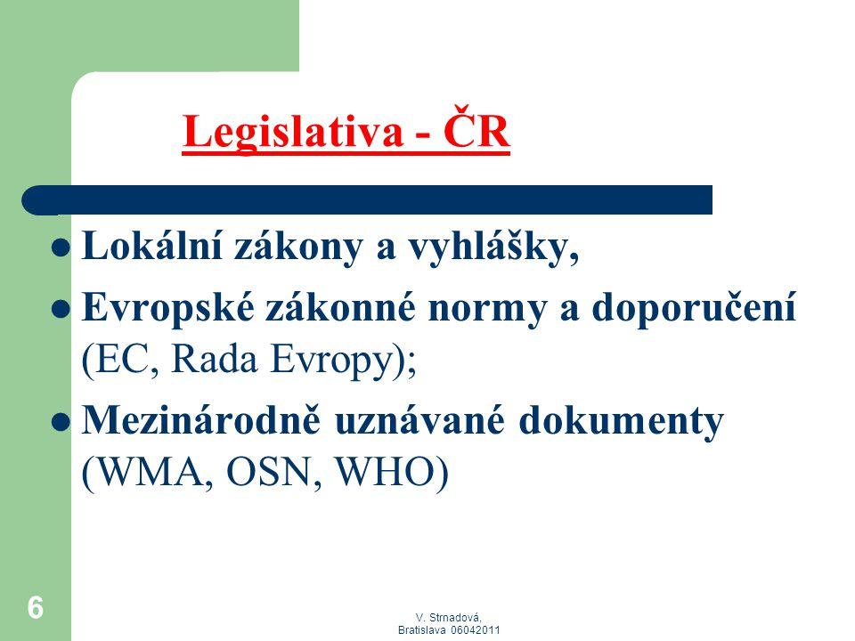 Legislativa - ČR Lokální zákony a vyhlášky,
