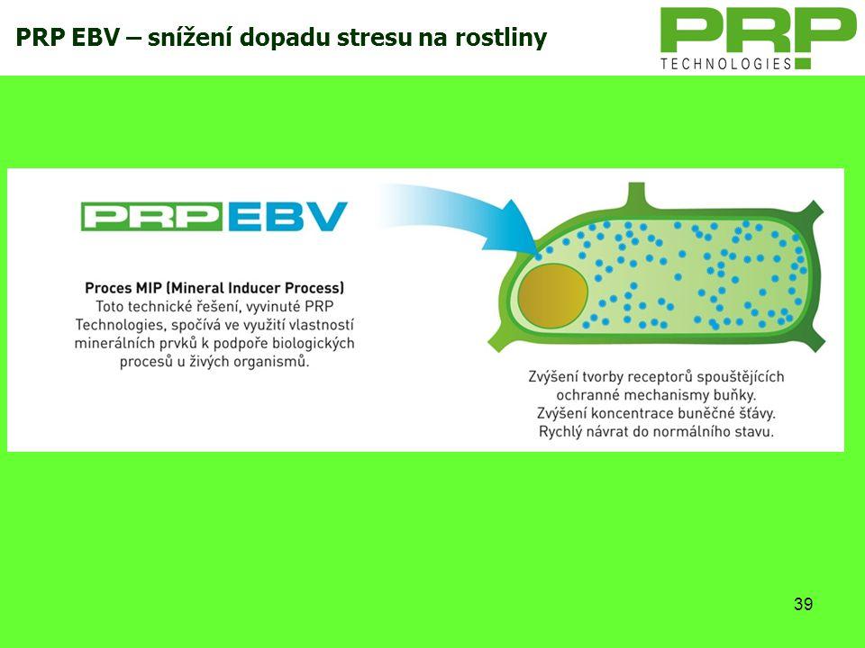 PRP EBV – snížení dopadu stresu na rostliny