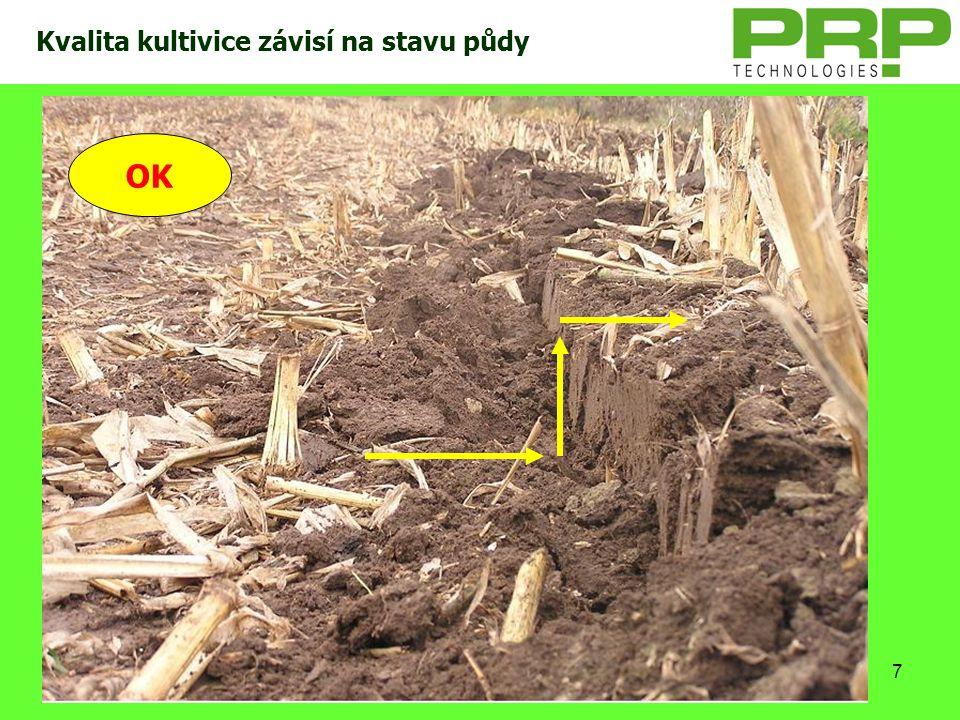 Kvalita kultivice závisí na stavu půdy