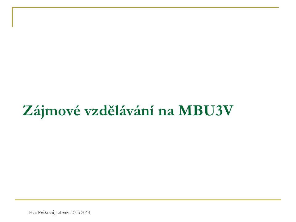 Zájmové vzdělávání na MBU3V