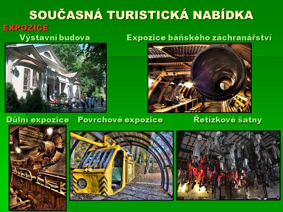 SOUČASNÁ TURISTICKÁ NABÍDKA Expozice báňského záchranářství