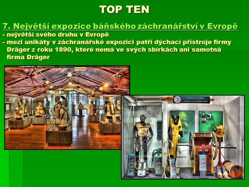 TOP TEN 7. Největší expozice báňského záchranářství v Evropě