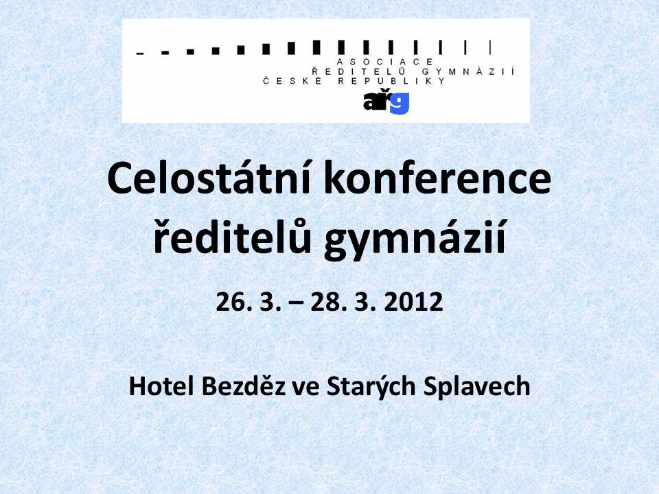 Celostátní konference ředitelů gymnázií