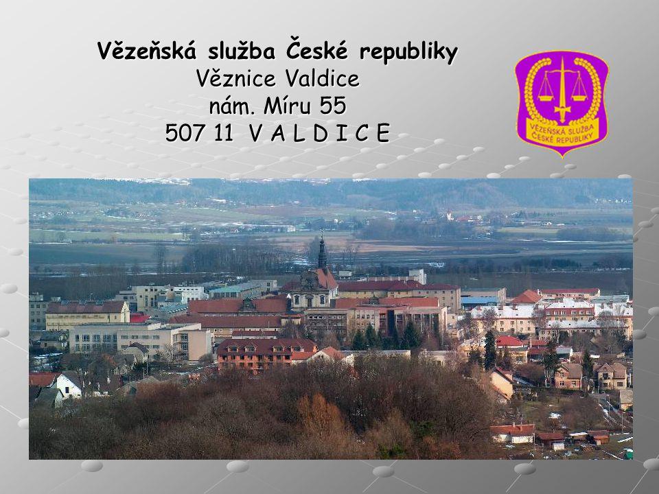 Vězeňská služba České republiky Věznice Valdice nám