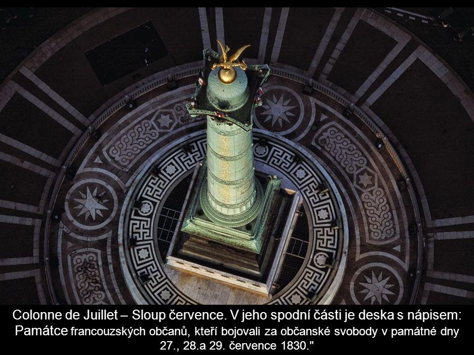 Colonne de Juillet – Sloup července