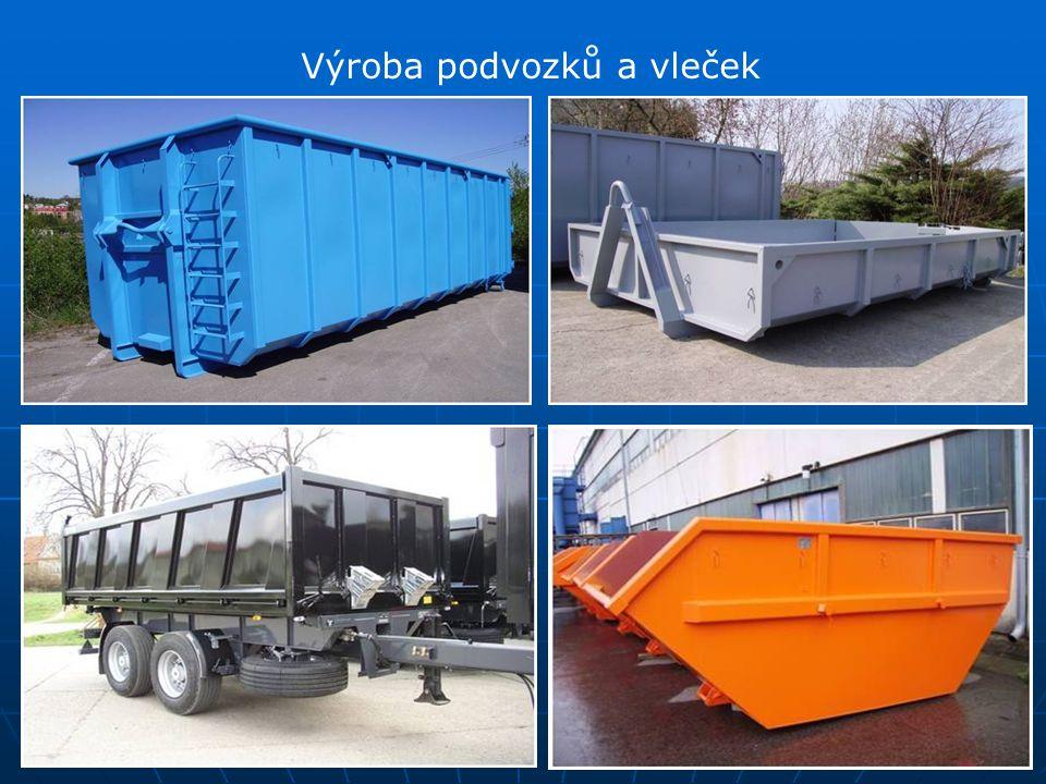 Výroba podvozků a vleček