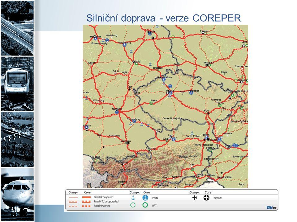 Silniční doprava - verze COREPER