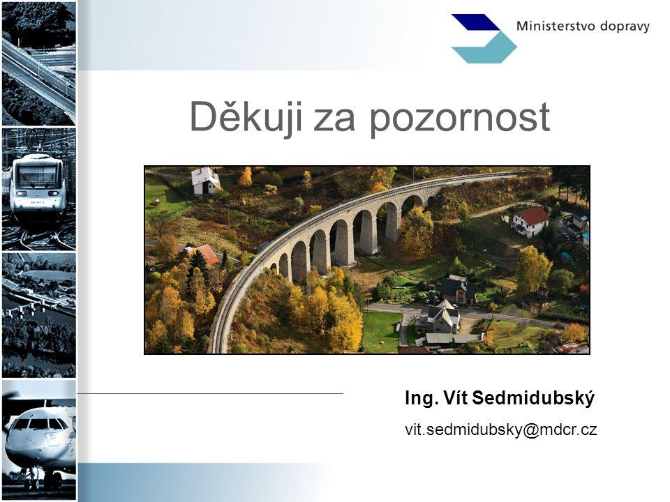 Děkuji za pozornost Ing. Vít Sedmidubský vit.sedmidubsky@mdcr.cz