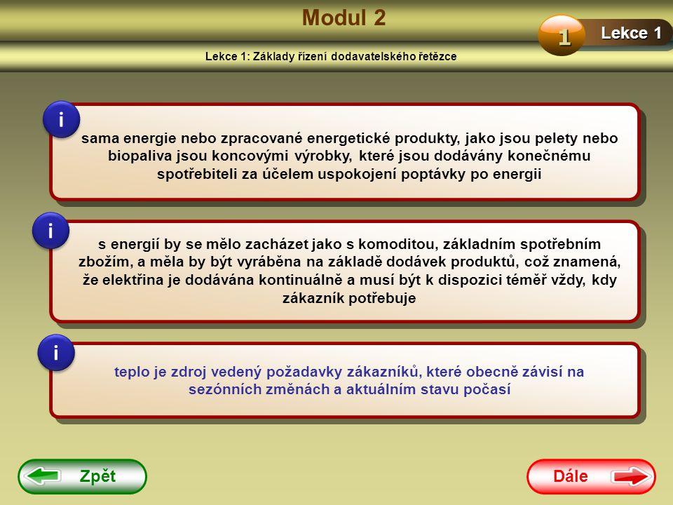 Lekce 1: Základy řízení dodavatelského řetězce