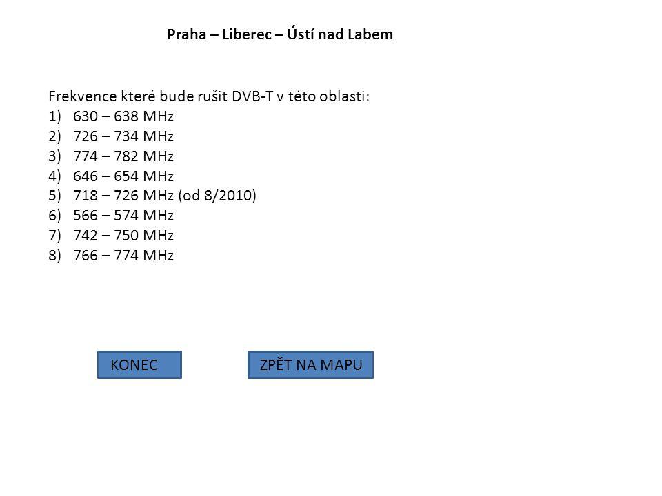 Praha – Liberec – Ústí nad Labem