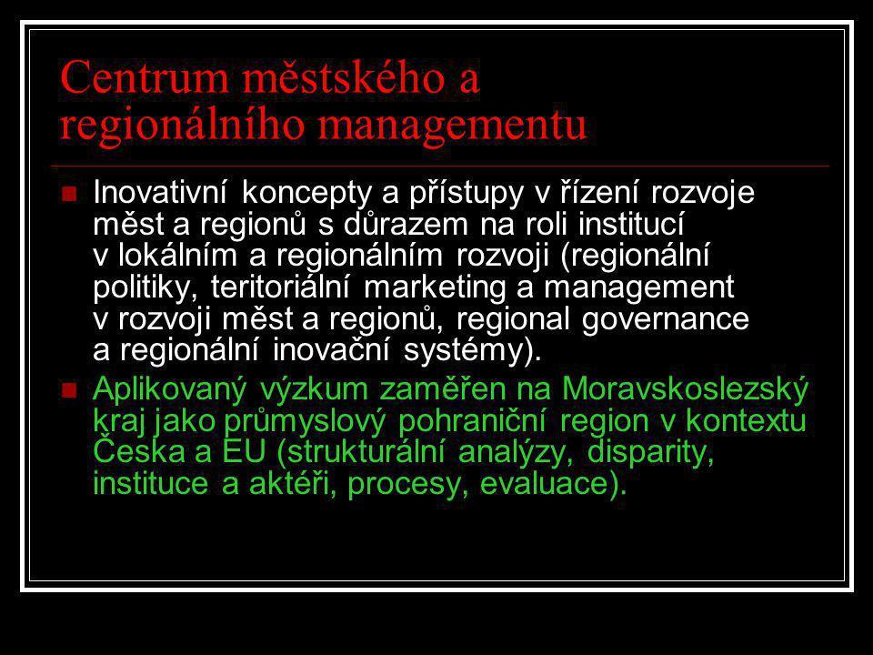 Centrum městského a regionálního managementu