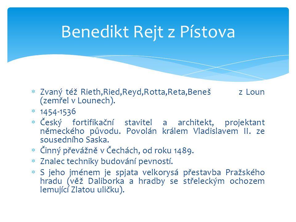 Benedikt Rejt z Pístova