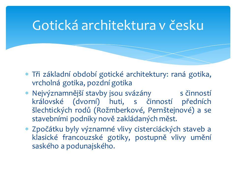 Gotická architektura v česku