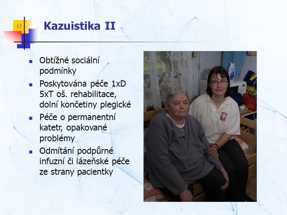 Kazuistika II Obtížné sociální podmínky