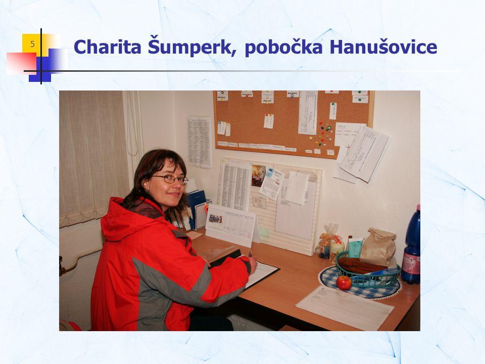 Charita Šumperk, pobočka Hanušovice