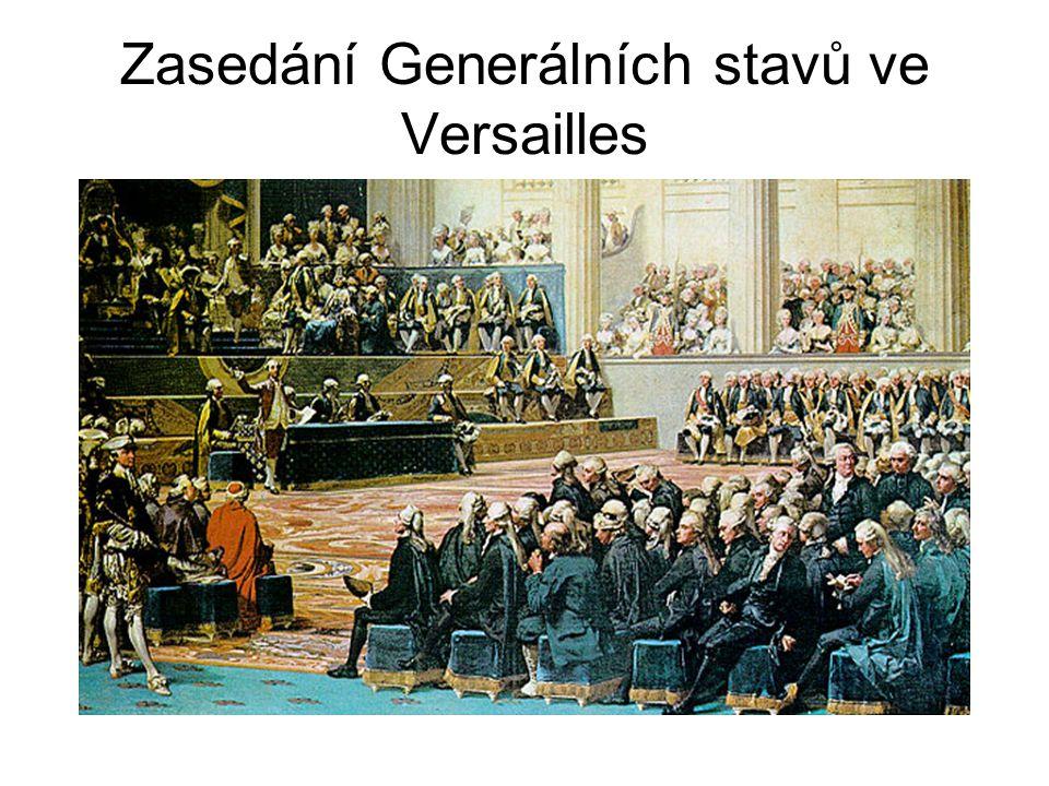 Zasedání Generálních stavů ve Versailles