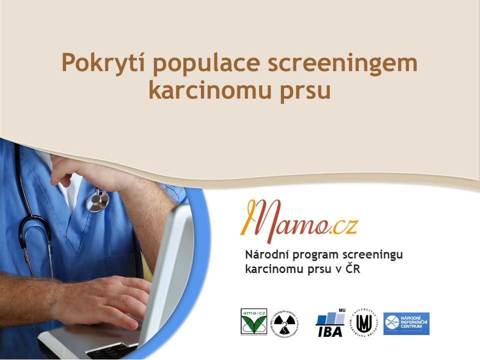 Pokrytí populace screeningem karcinomu prsu