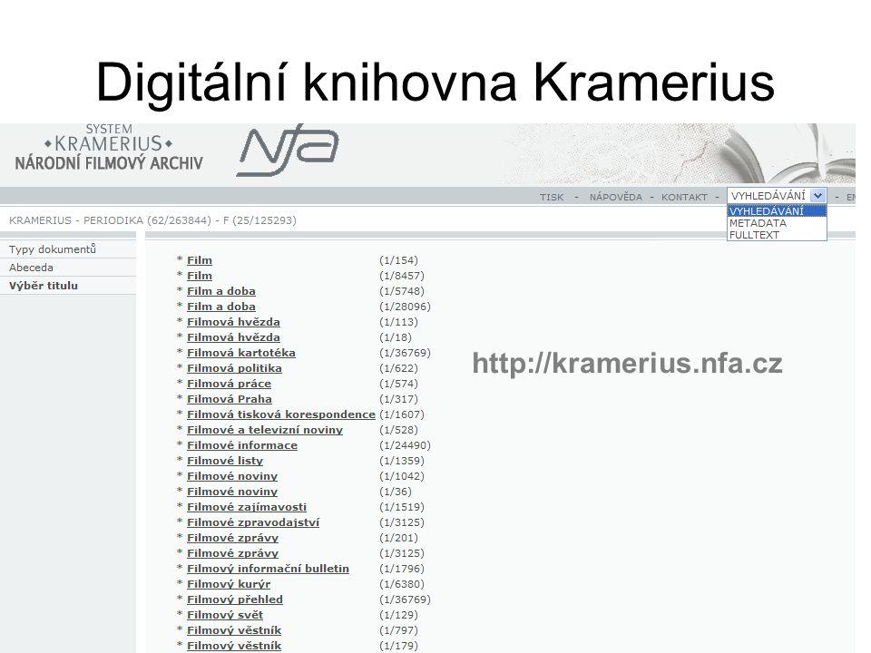 Digitální knihovna Kramerius