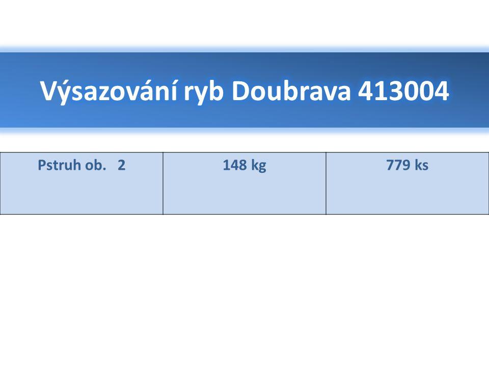 Výsazování ryb Doubrava 413004