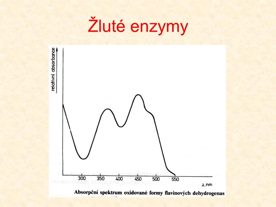 Žluté enzymy