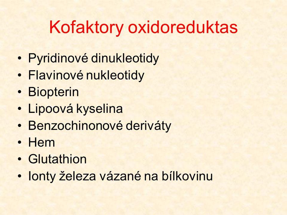 Kofaktory oxidoreduktas
