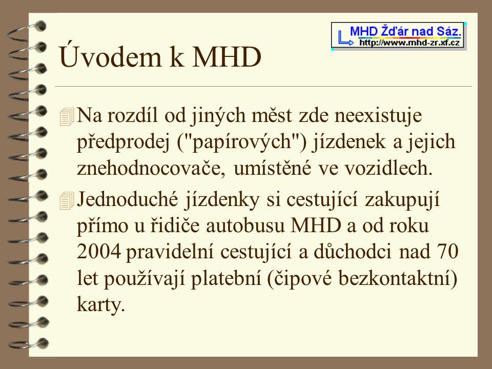 Úvodem k MHD Na rozdíl od jiných měst zde neexistuje předprodej ( papírových ) jízdenek a jejich znehodnocovače, umístěné ve vozidlech.