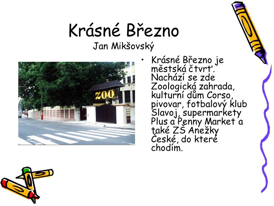 Krásné Březno Jan Mikšovský