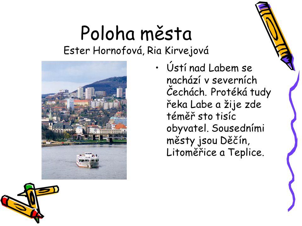 Poloha města Ester Hornofová, Ria Kirvejová