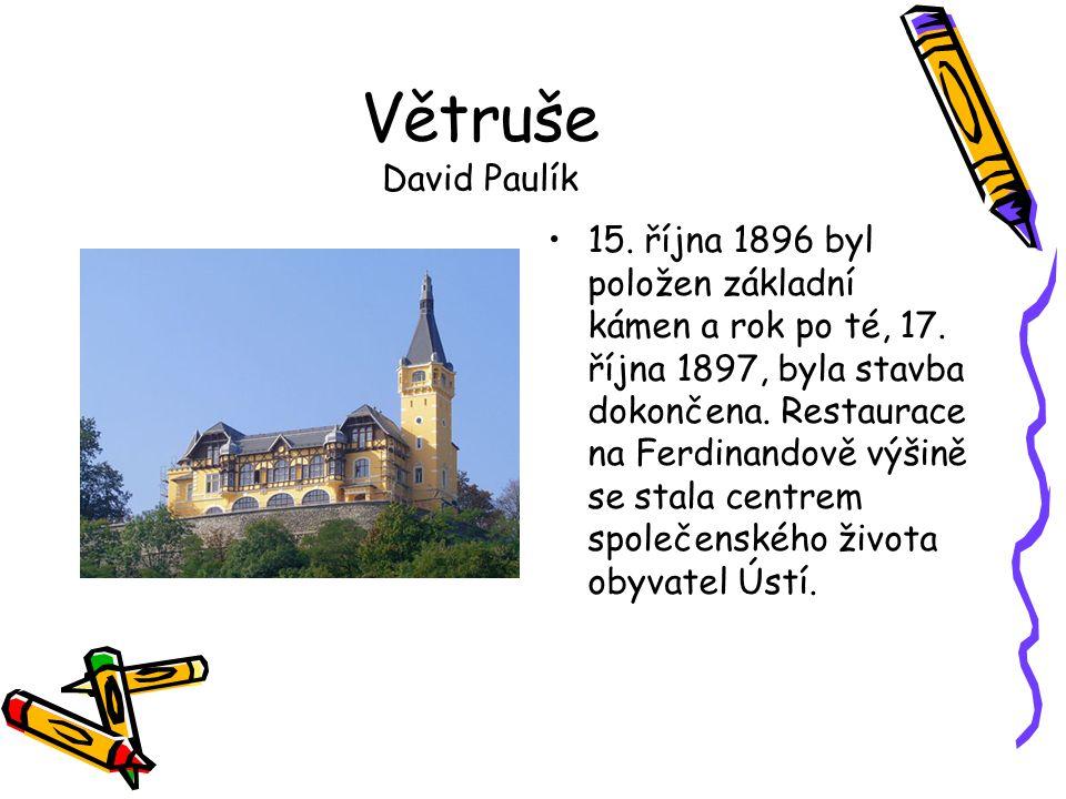 Větruše David Paulík