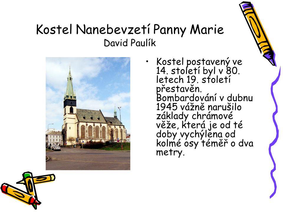 Kostel Nanebevzetí Panny Marie David Paulík