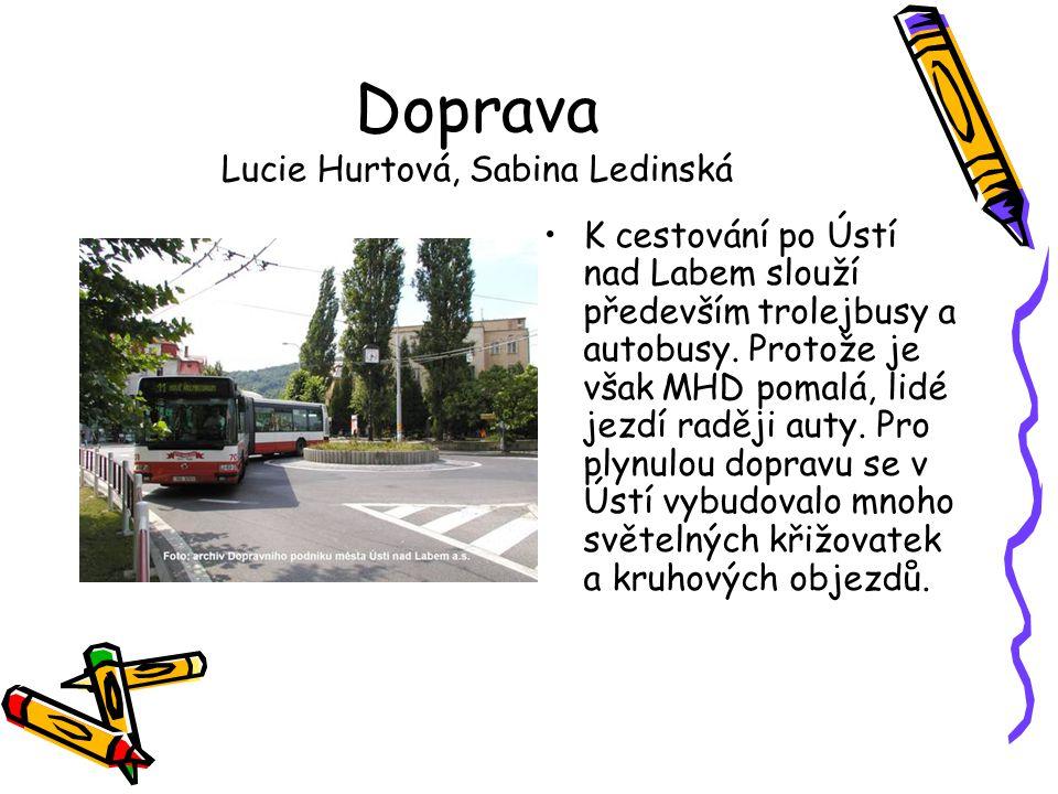 Doprava Lucie Hurtová, Sabina Ledinská