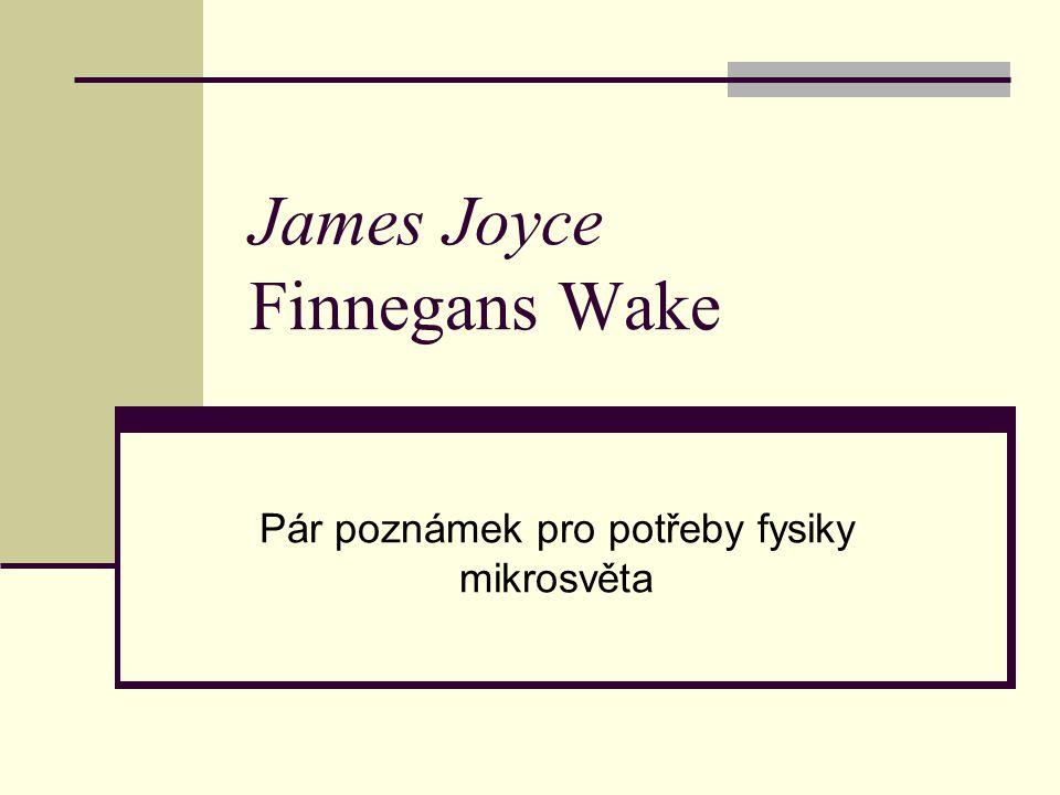 James Joyce Finnegans Wake