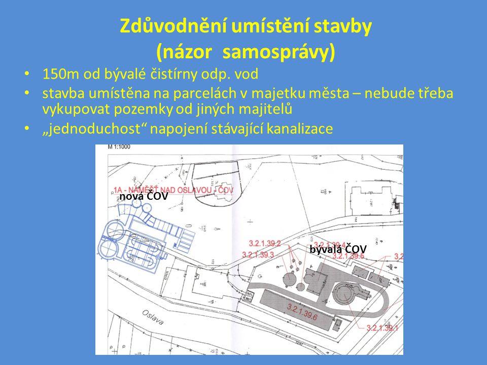 Zdůvodnění umístění stavby (názor samosprávy)