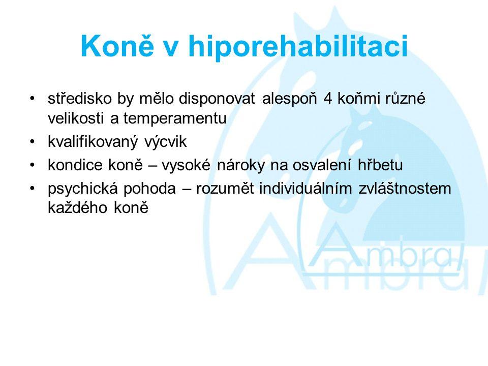 Koně v hiporehabilitaci