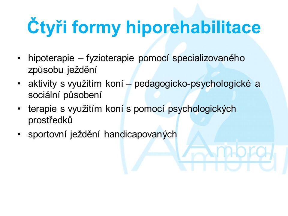 Čtyři formy hiporehabilitace