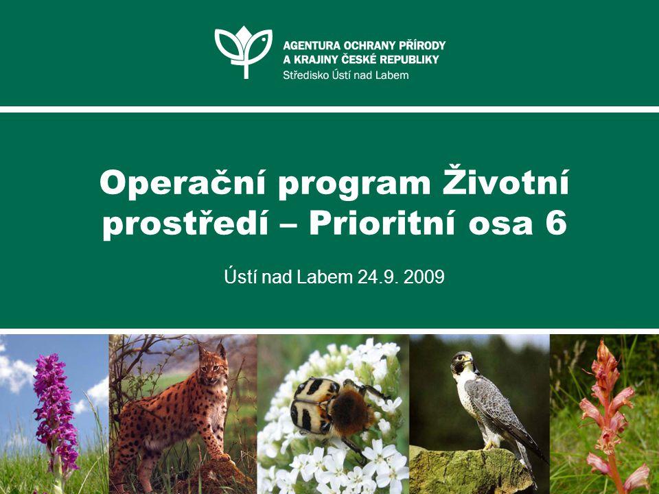 Operační program Životní prostředí – Prioritní osa 6