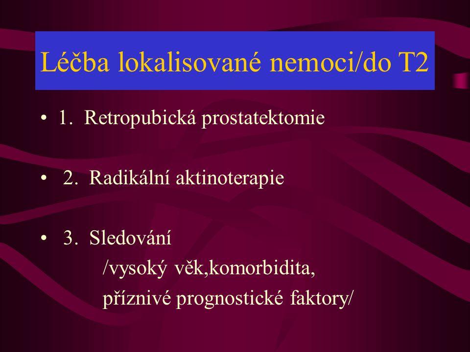 Léčba lokalisované nemoci/do T2
