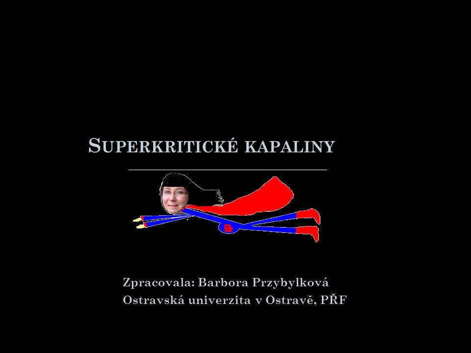 Superkritické kapaliny