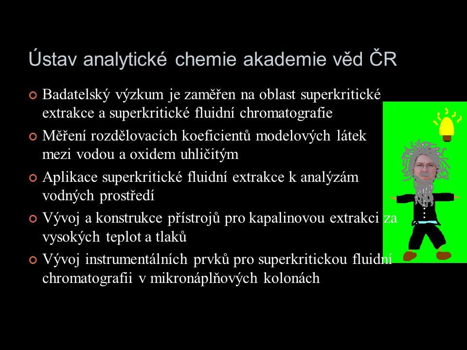 Ústav analytické chemie akademie věd ČR