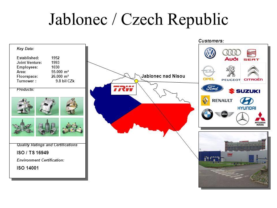 Jablonec / Czech Republic