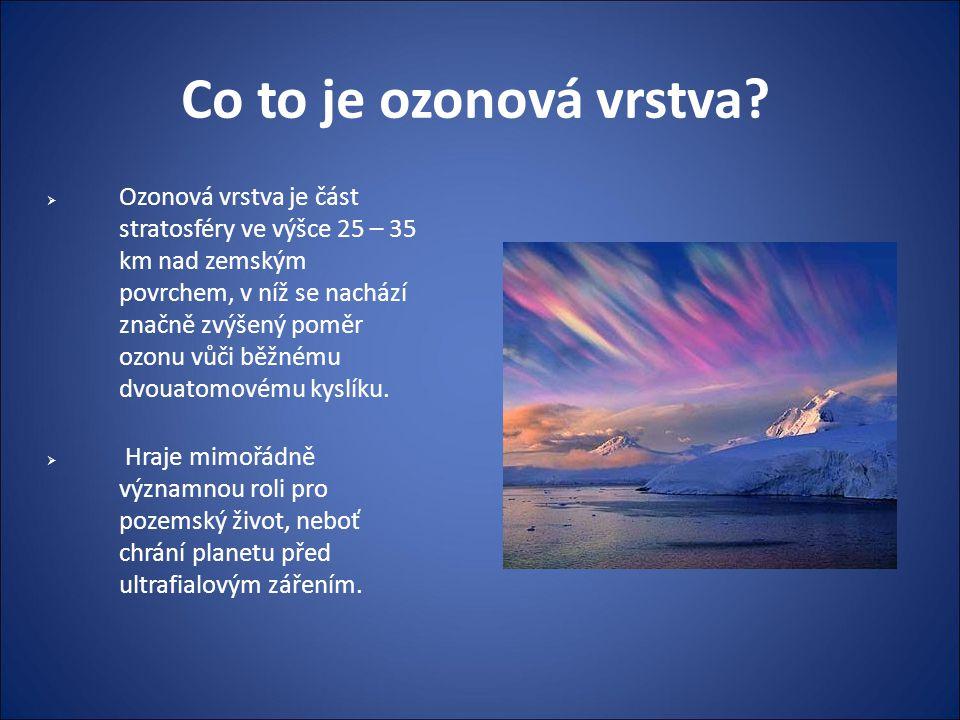 Co to je ozonová vrstva