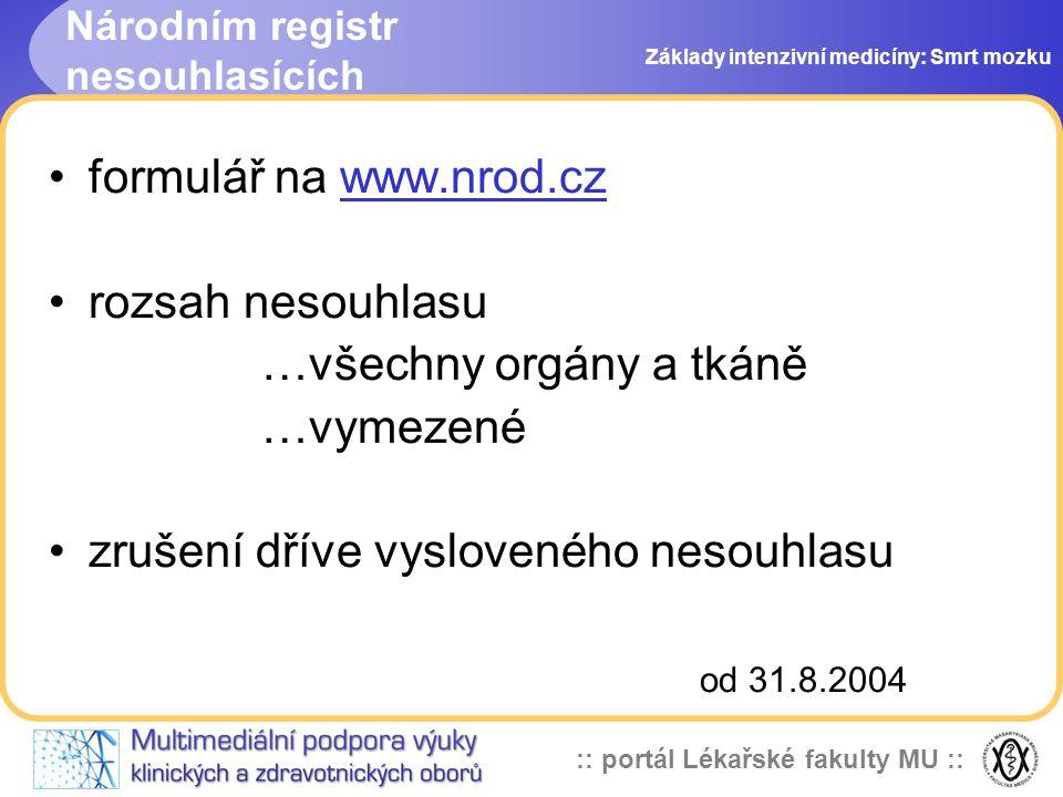 Národním registr nesouhlasících